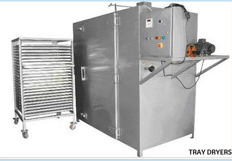 Tray dryers manufacturers